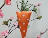 Little Carrot Lavender Sachet, Carrot Lavender Bag, Fun Vegetable Spring Gift