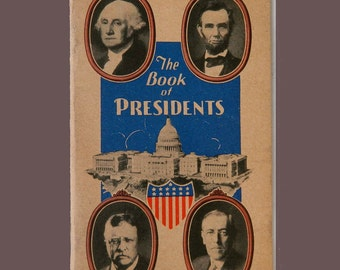 The Book of Presidents with Rochester NY Standard Brewing Co Ad
