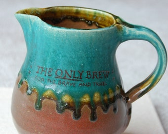 Only Brew Pottery Pitcher --SALE