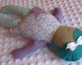 Hallie Small Handmade Fabric Baby Doll