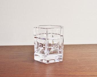 Modern vintage Rosenthal crystal vase or container