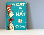The Cat in the Hat.  1950s classic Dr. Seuss book with wacky illustrations.