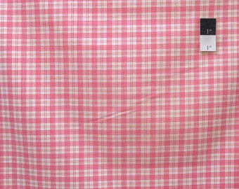 Verna Mosquera PWVM107 Rosewater Summer Plaid Popsicle Fabric By Yd