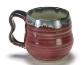Copper Red Double  Bubble Cup