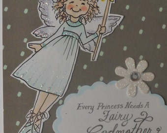 Be My Fairy Godmother Collage Card