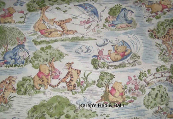 Winnie The Pooh Fabric With Pooh By The Yard Quarter Yard Fat