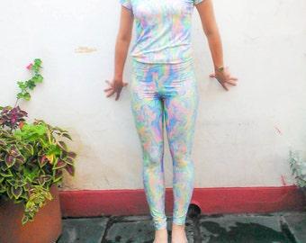 Acid Pastel Leggings