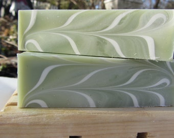 Bamboo Sugar Cane Cold Procesed Soap with Cocoa Butter