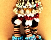 Fabulous Tassels & Red Coral - Vintage Turkmen
