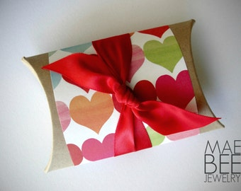 No Charge with purchase - Gift Wrap - Pillow Box