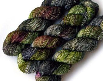 Lace Merino, Cashmere and Nylon Yarn - Undergrowth, 560 yards