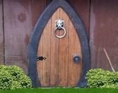 Fairy Doors, Gnome doors, Faerie Doors, Elf Doors, 12 inch, lion knocker.