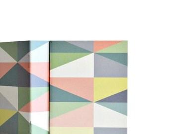 MID Notebook Pocket Journal Pastel Harlequin Gift under 5