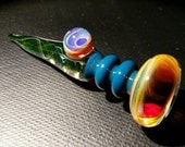 UV Reactive Borosilicate glass dropper/dabber for perfumes and essential oil's