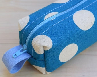 Cosmo Polka Dots Sm CA Roll (pencil or makeup case)