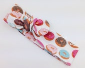 Doughnut Top Knot Baby Toddler Women's Donut Head Wrap Tied Headband