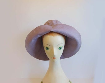 early vintage marimekko hat / Rare 1955 MARIMEKKO FInland / 50s Hat
