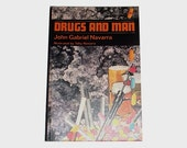 1970s health book / 70s drugs book / Drugs and Man Health Book