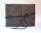 Classy Leather Photo Album /Holds 30 Photos / 4 x 6 Photo Album / Includes Photo Corners