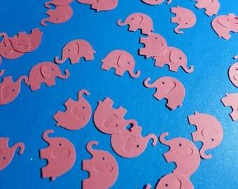 Itty Bitty Pink Elephants Die Cuts