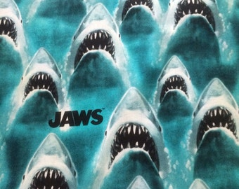Classic Jaws Fabric By The Yard FBTY