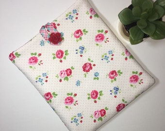 iPad Case, iPad Cover, Tablet Case, Tablet Cover, Flower iPad Case, Gift Idea