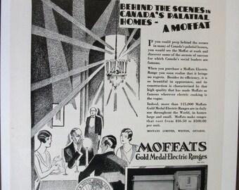 128 Moffats Ranges Ad - 1930