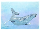 Humpback Whale Art Print ...