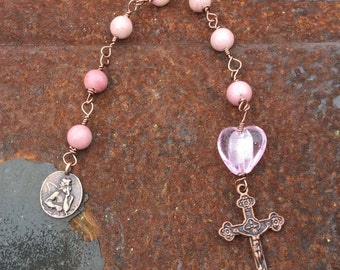 Christmas in July Jayne Ann Rhodocriste Anglican Chaplet Prayer Beads