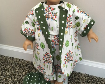 WOODLAND DREAM 4-Piece 18-Inch Doll Outfit
