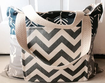 Custom tote, tote, bag, monogrammed tote, beach bag, beach tote, summer tote, summer bag, diaper tote, diaper bag, personalized tote, large