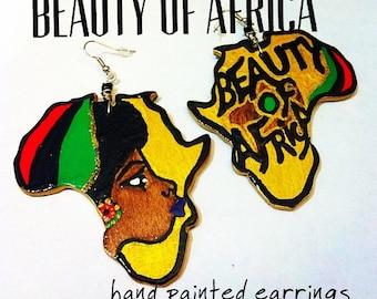 Beauty of Africa Earrings