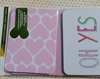 Project Life Cards - OH YES - Scrapbook Journal Cards - 30 Cards