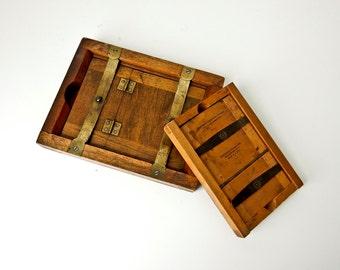 2 Antique Printing Frames Eastman Kodak Darkroom Supplies  Photo Developing Plate