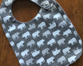 Rhino Minky Baby/Toddler Bib
