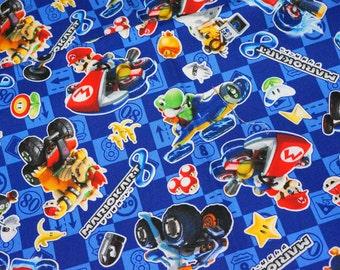 Mario Bross Print Japanese fabric