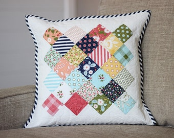 Little Miss Sunshine Quilted Pillow COVER