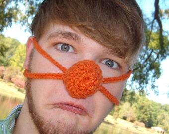 Orange you glad your nose is Warm - Nose Warmer - Man Woman Teen - Outdoor Lover - Hunter Sportsman - Winter Games -Vegan Friendly