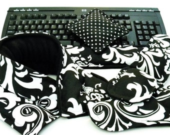 Office Stress Relief Heat Pad Hot Cold Therapy Packs, Ergonomic Keyboard Mouse Wrist Rest, Coworker gift, Boss gift,  Desk Foot Warmers