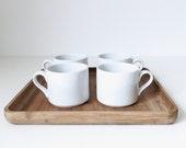 dansk coffee mugs | set of four
