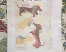 New 2000 Cloth Doll Supply Company Patterns of the Past Betsy McCall's Dogs Nosy and Kitten 1810