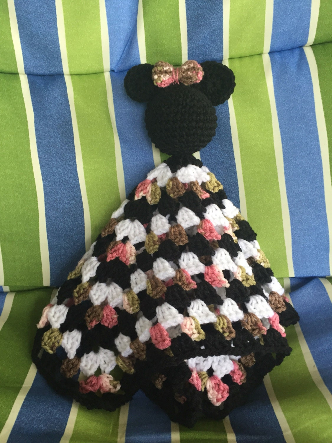 Baby Minnie Mouse Security Blanket