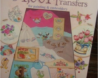 One Thousand One Iron on Transfers Book