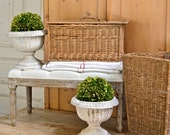 Old And Charming French Basket