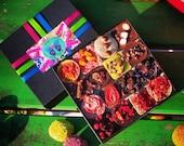 A box of 16 raw vegan chocolates of your choice. Organic & no gluten added
