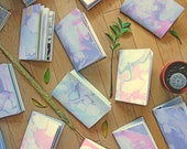 Marbled Notebook Journal - Set of Three - Salvaged Papers - Assorted - Free Shipping