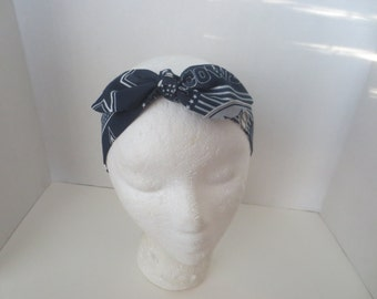 Dallas Cowboys - Headbands - Adjustable headband - Cowboys - Football - Headbands