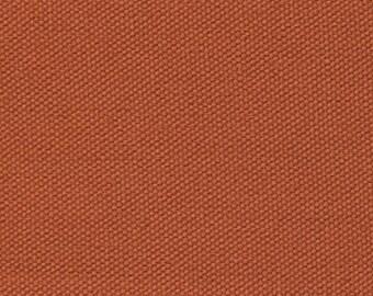"60"" Wide Organic Cotton Duck CANVAS Fabric SWEET POTATO Bags Apparel Crafts Home Decor Earthy Orange"
