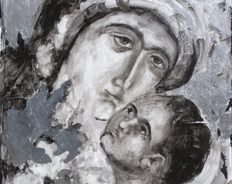 Blessed Mother with Child