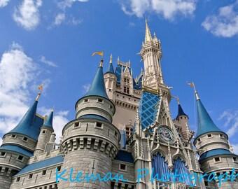 Disney World Magic Kingdom Cinderella Castle Magnet #1-READY TO SHIP